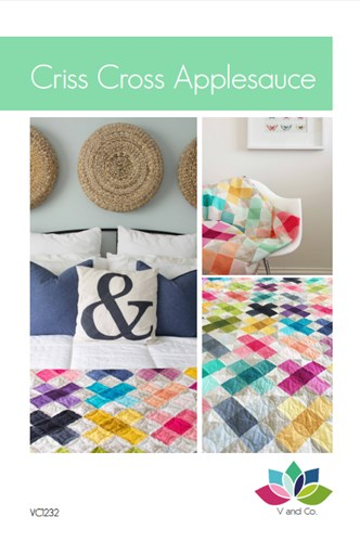 Criss Cross Applesauce Quilt Kit Featuring Ombre by V and Co