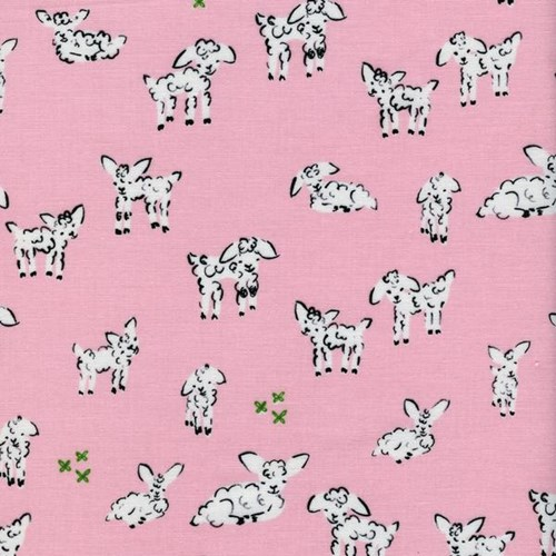 Little Lambs in Pink