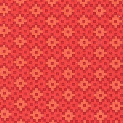 Woven in Coral