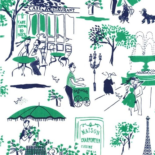 Gay Paree in Green