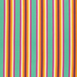 Tick Tock Stripe in Sorbet