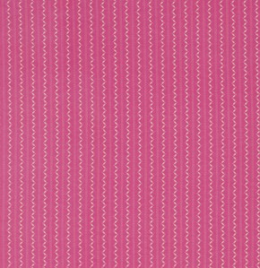 Fine Stripe in Magenta