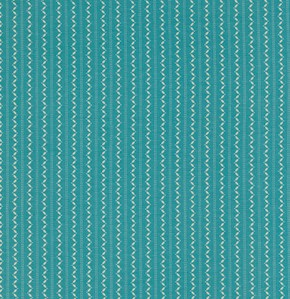 Fine Stripe in Turquoise