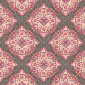 Kaleidoscope in Pink SATEEN