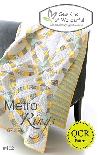Metro Rings Quilt Pattern by Sew Kind of Wonderful