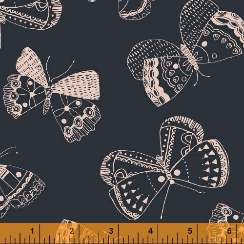 Mono Butterfly in Navy