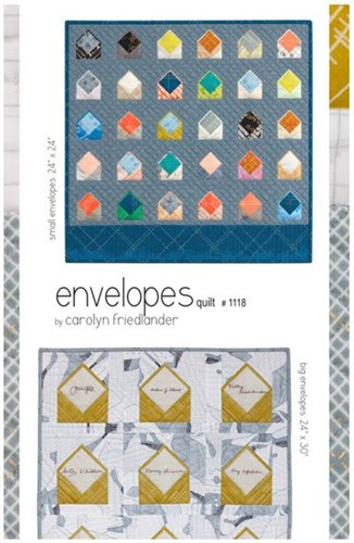Envelopes Quilt Pattern by Carolyn Friedlander
