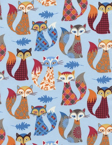 Patterned Foxes