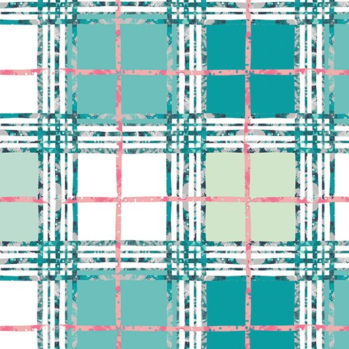 Lavish Trellis Plaid in Fresh