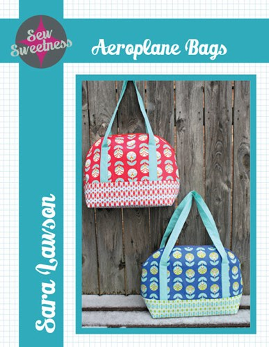 Aeroplane Bag by Sara Lawson of Sew Sweetness