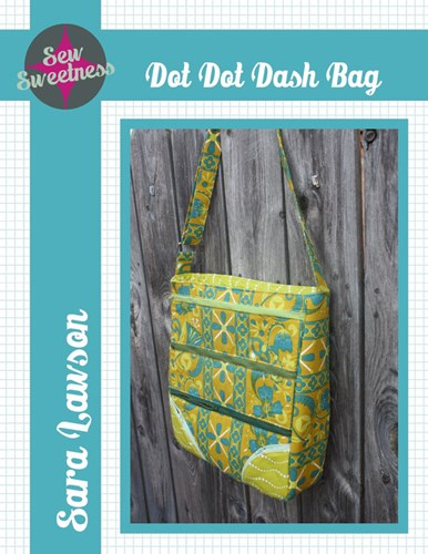 Dot Dot Dash Bag by Sara Lawson of Sew Sweetness