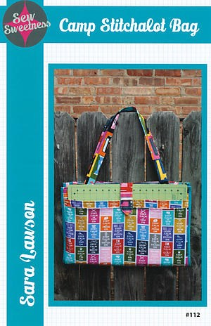 Camp Stitchalot Bag by Sara Lawson of Sew Sweetness