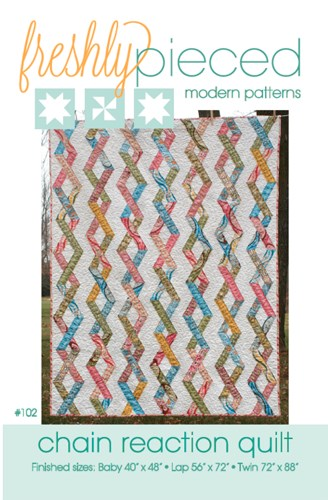 Chain Reaction Quilt Pattern by Freshly Pieced