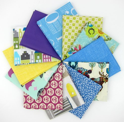 Psychedelic Fantasy Fat Quarter Bundle