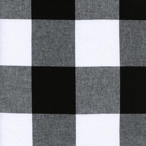 2.5 Inch Gingham in Black