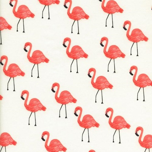 Flamingos in Ivory LAWN