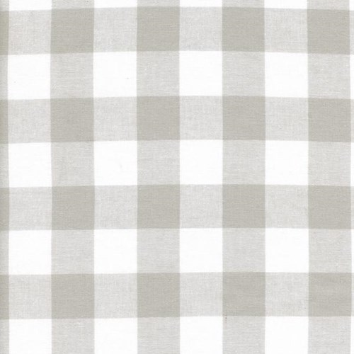One Inch Gingham in Linen
