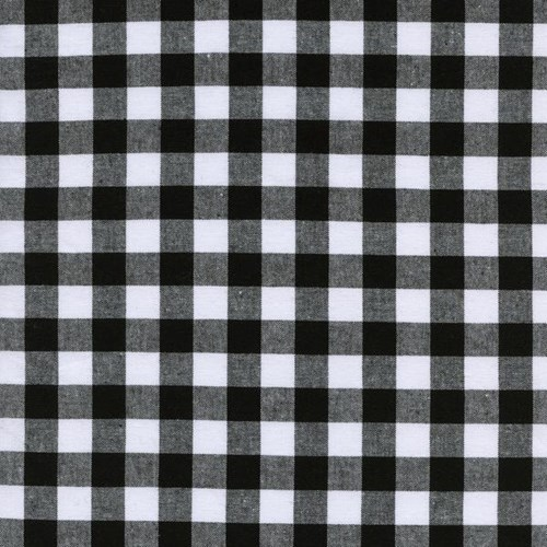 Half Inch Gingham in Black