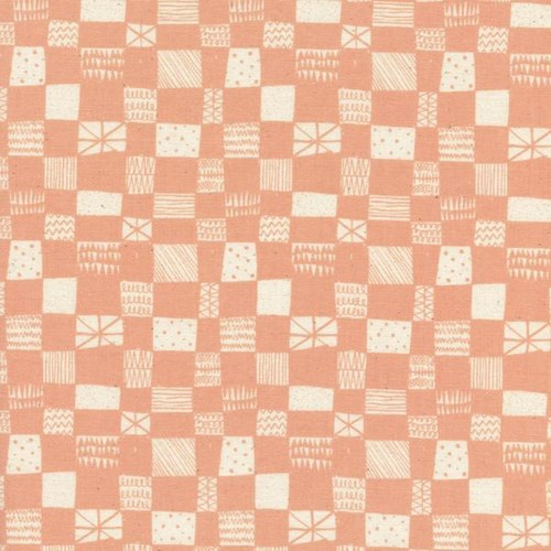 Grid in Peach