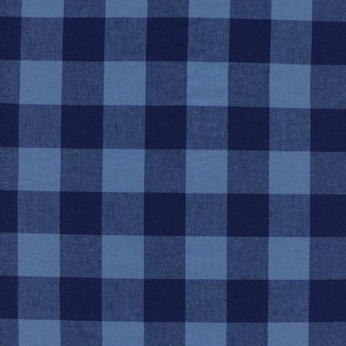 One Inch Gingham in Navy