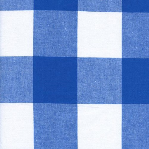 2.5 Inch Gingham in Cobalt