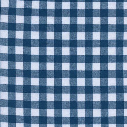 Half Inch Gingham in Teal