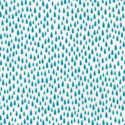 Raindrops in Turquoise