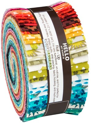 Paintbox Basics Jelly Roll by Elizabeth Hartman