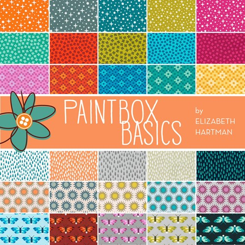 Paintbox Basics Ten Squares by Elizabeth Hartman