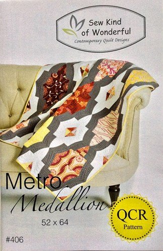 Metro Medallion Quilt Pattern by Sew Kind of Wonderful