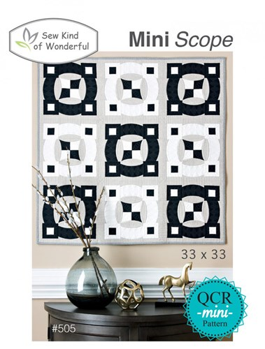 Mini Scope Quilt Pattern by Sew Kind of Wonderful