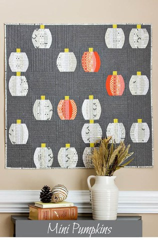 Mini Pumpkins Quilt Pattern by Sew Kind of Wonderful