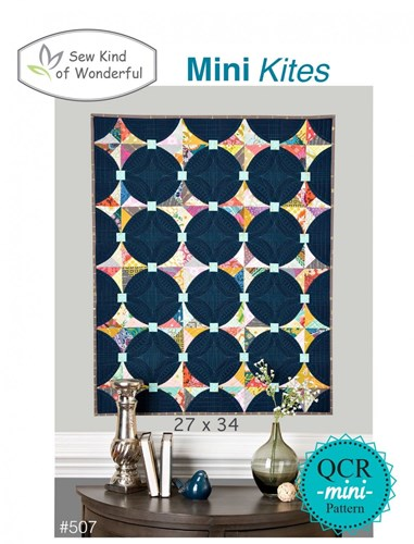 Mini Kites Quilt Pattern by Sew Kind of Wonderful