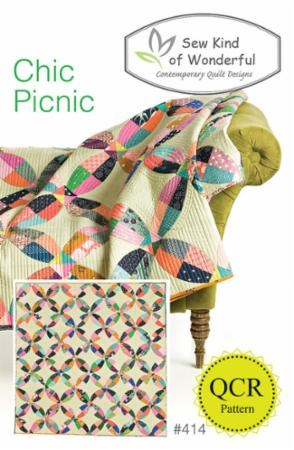 Chic Picnic Quilt Pattern by Sew Kind of Wonderful