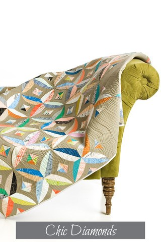 Chic Diamonds Quilt Pattern by Sew Kind of Wonderful