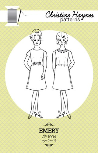 Emery Dress Pattern by Christine Haynes Patterns