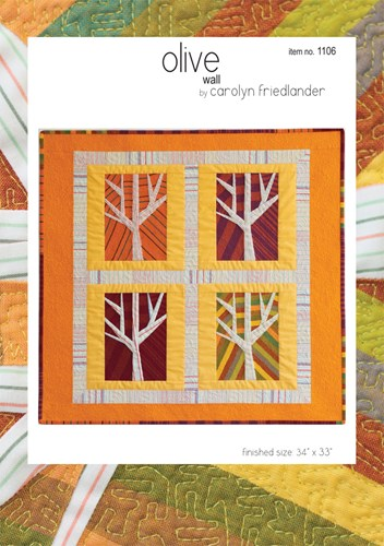 Olive Quilt Pattern by Carolyn Friedlander