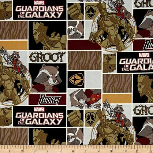 Marvel Guardians of the Galaxy Rocket and Groot