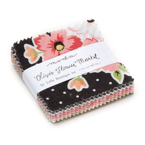 Olive's Flower Market Mini Charm Pack by Lella Boutique
