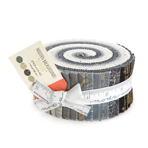 Modern Backgrounds Luster Jelly Roll by Zen Chic