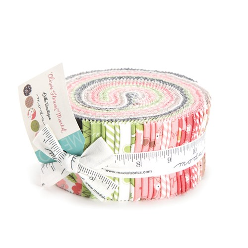 Olive's Flower Market Jelly Roll by Lella Boutique