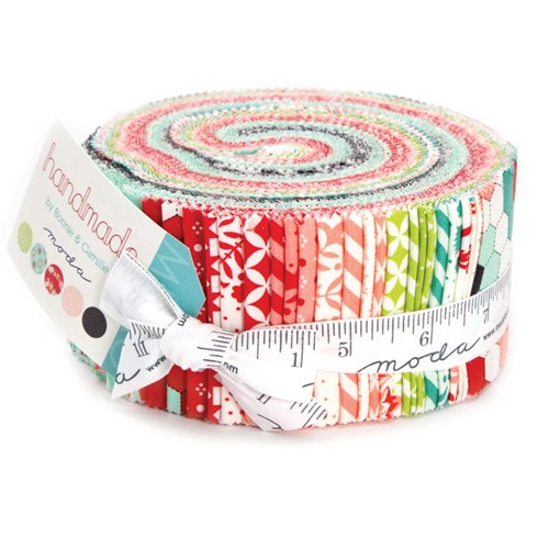 Handmade Jelly Roll by Bonnie and Camille
