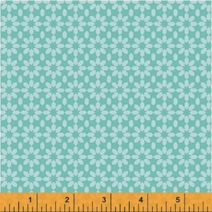 Ice Floral in Turquoise
