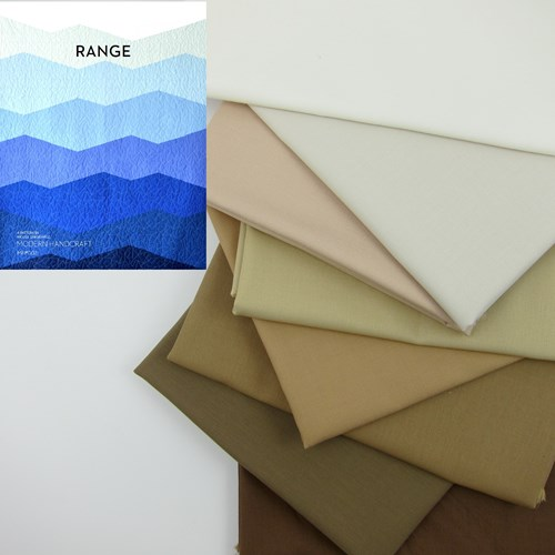 Range Quilt Top Kit in Arid
