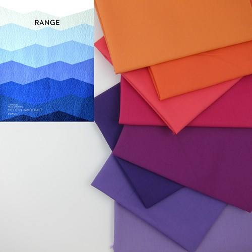 Range Quilt Top Kit in Sunset