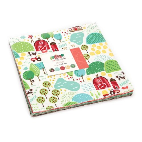 Farm Fun Layer Cake by Stacy Iset Hsu for Moda