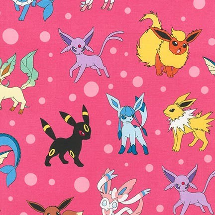 Pokemon in Pink