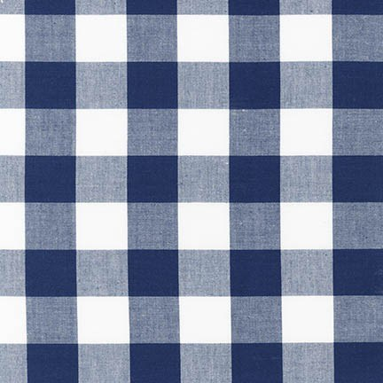 "Carolina Gingham 1"" in Navy"