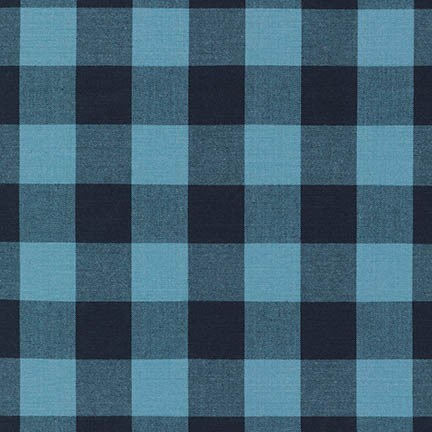 "Carolina Gingham 1"" - Indigo"