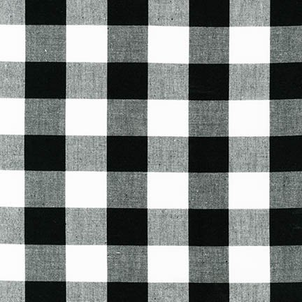 "Carolina Gingham 1"" - Black"